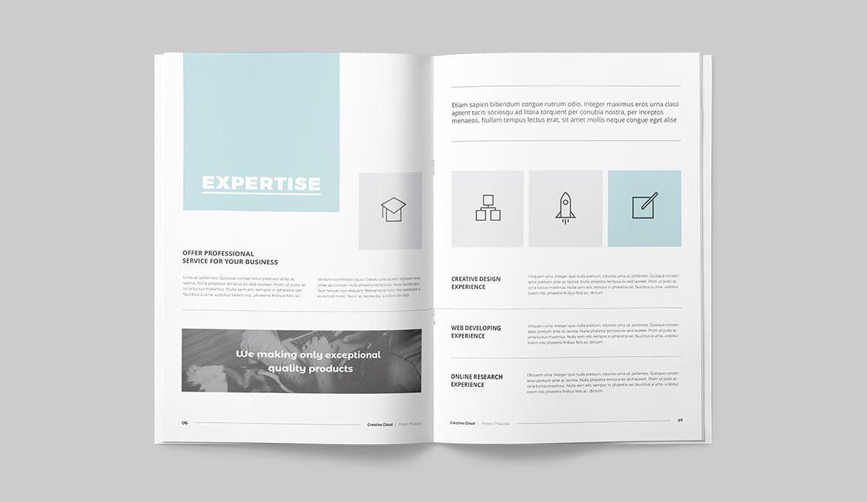 proposal brochure design