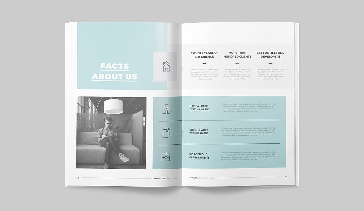 proposal brochure template indd