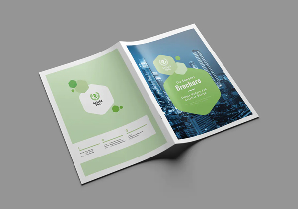 Clean and creative brochure design