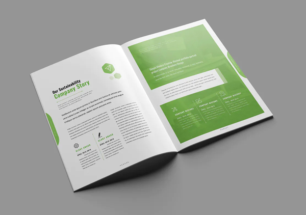 Clean and creative brochure indd