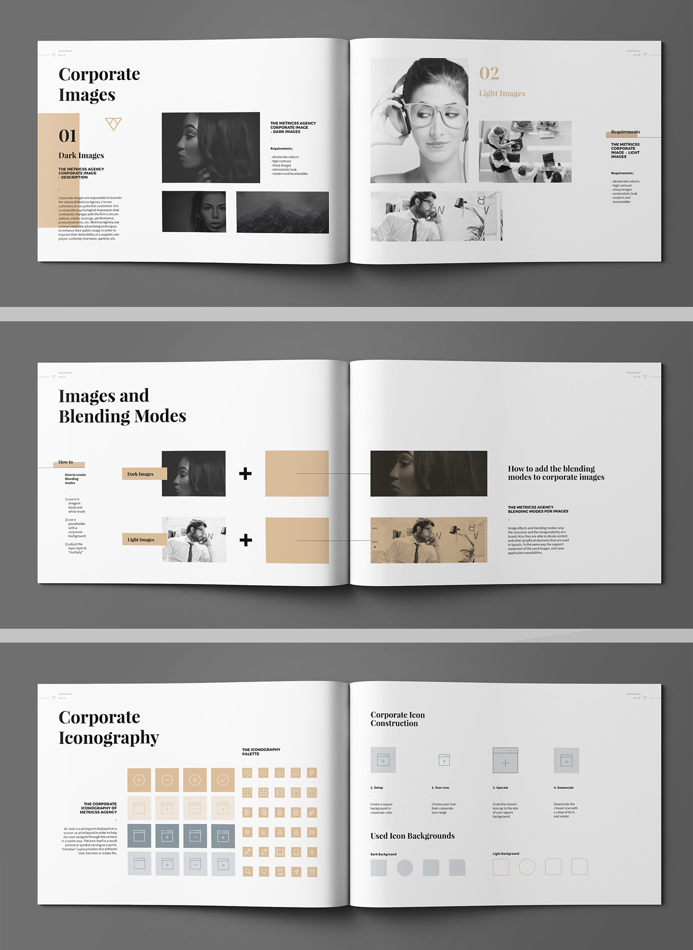 Minimal Brand Manual Brochure