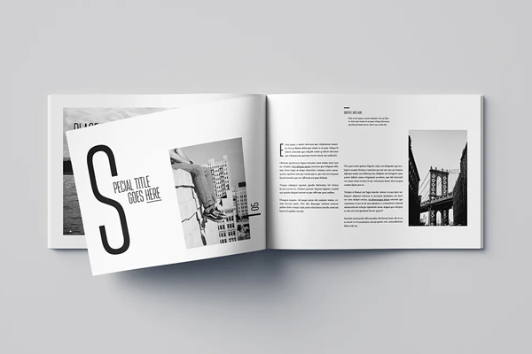Photography brochure ideas