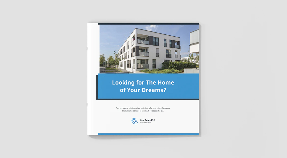 Architecture brochure cover template