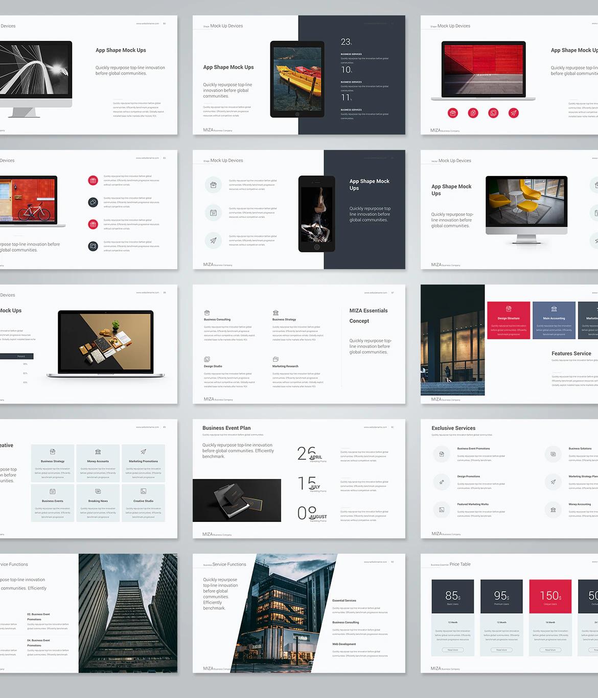 Multipurpose keynote design