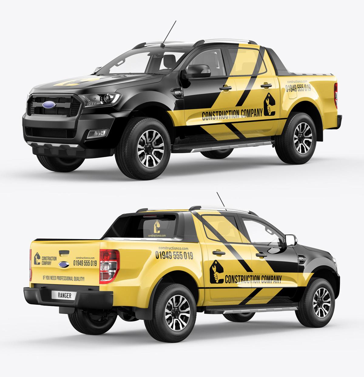 Ranger pickup mockup