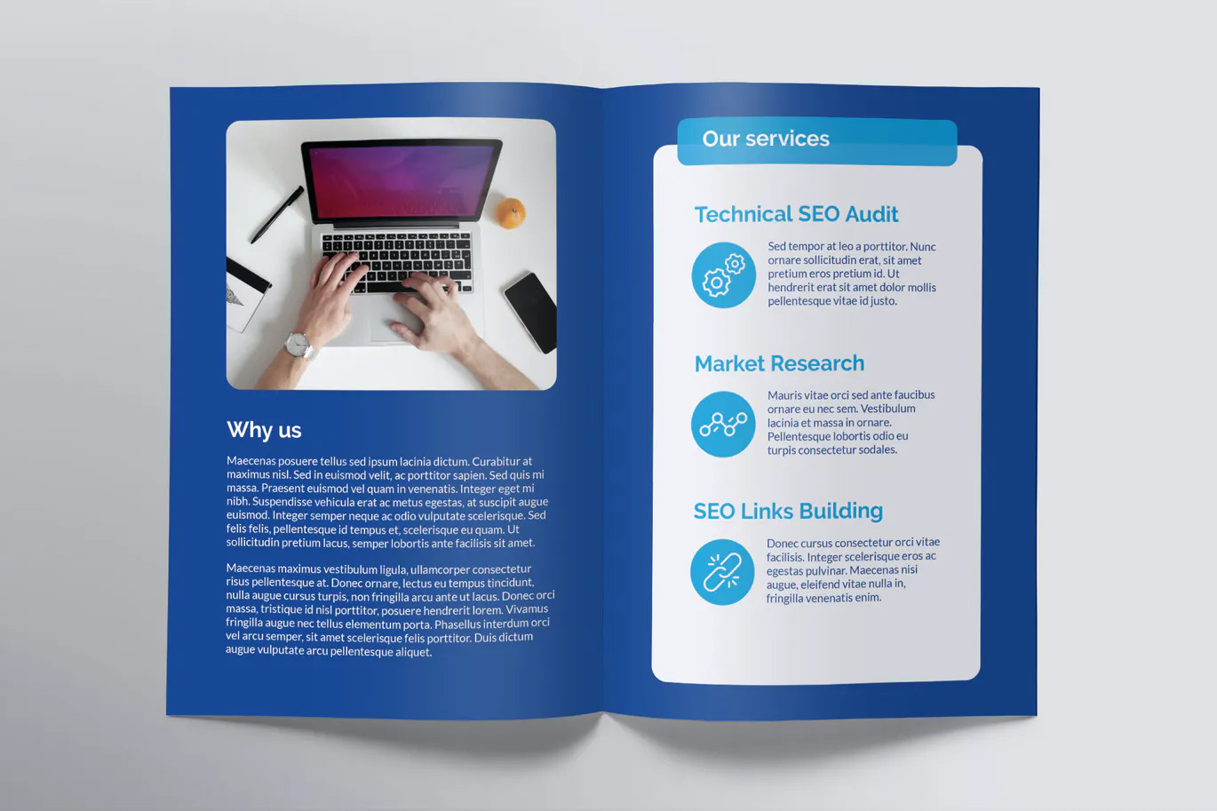 Agency Bi-Fold Brochure Design