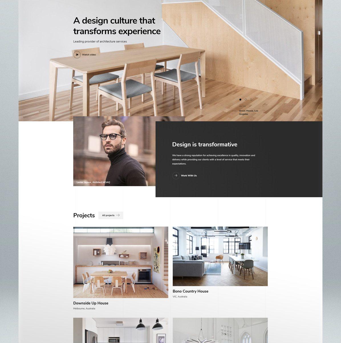 Architecture & Interior Design WordPress Theme