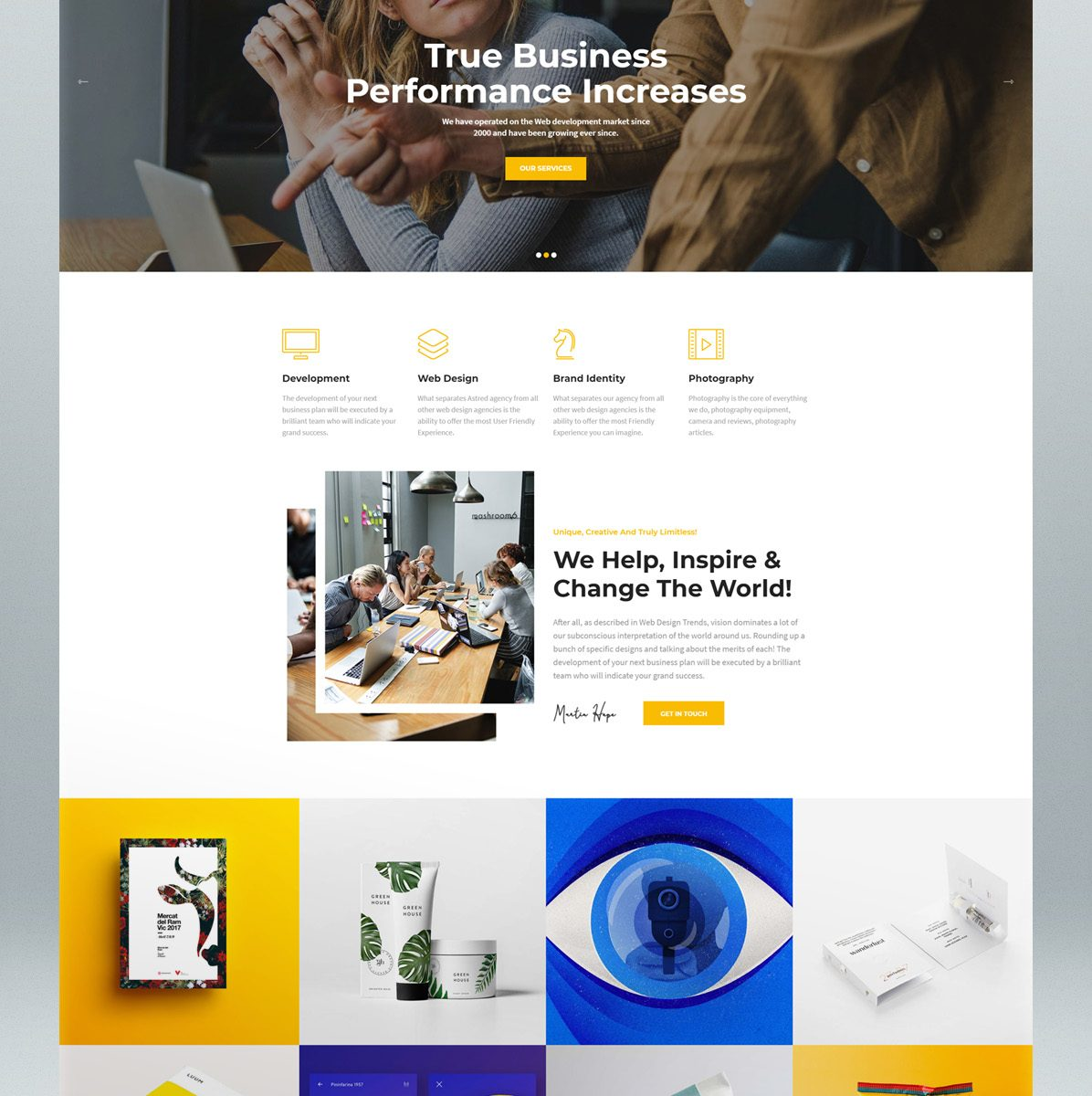 Modern multi-purpose WordPress theme
