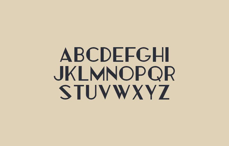 Cormier - Art deco themed typeface