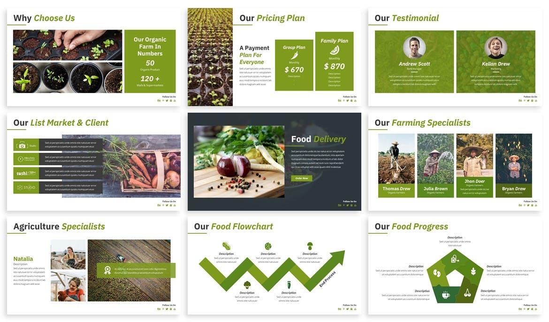 Fresh food PowerPoint