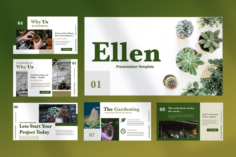 Home gardening PowerPoint presentation