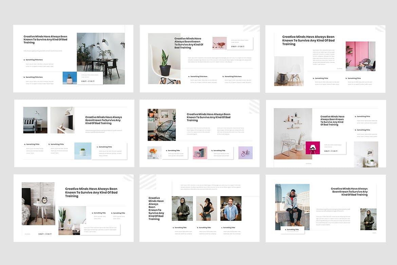 Interior design PowerPoint presentation template