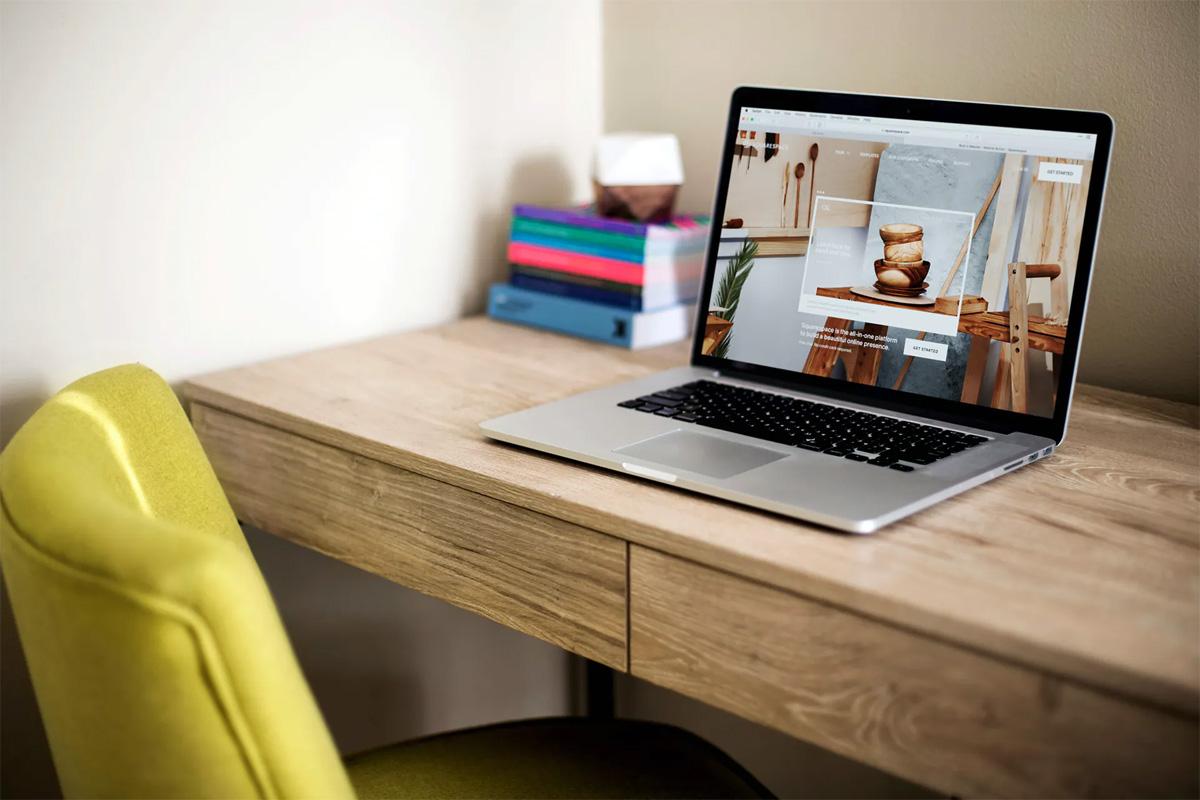 Macbook laptop mockups