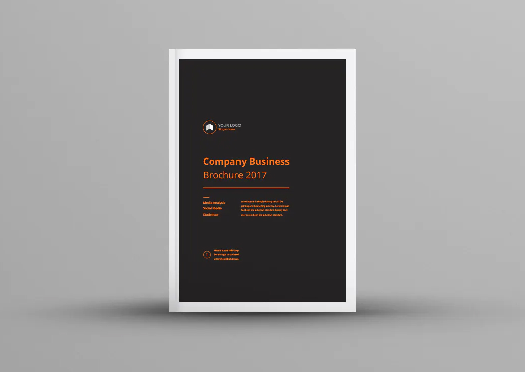 Company Business Brochure Design