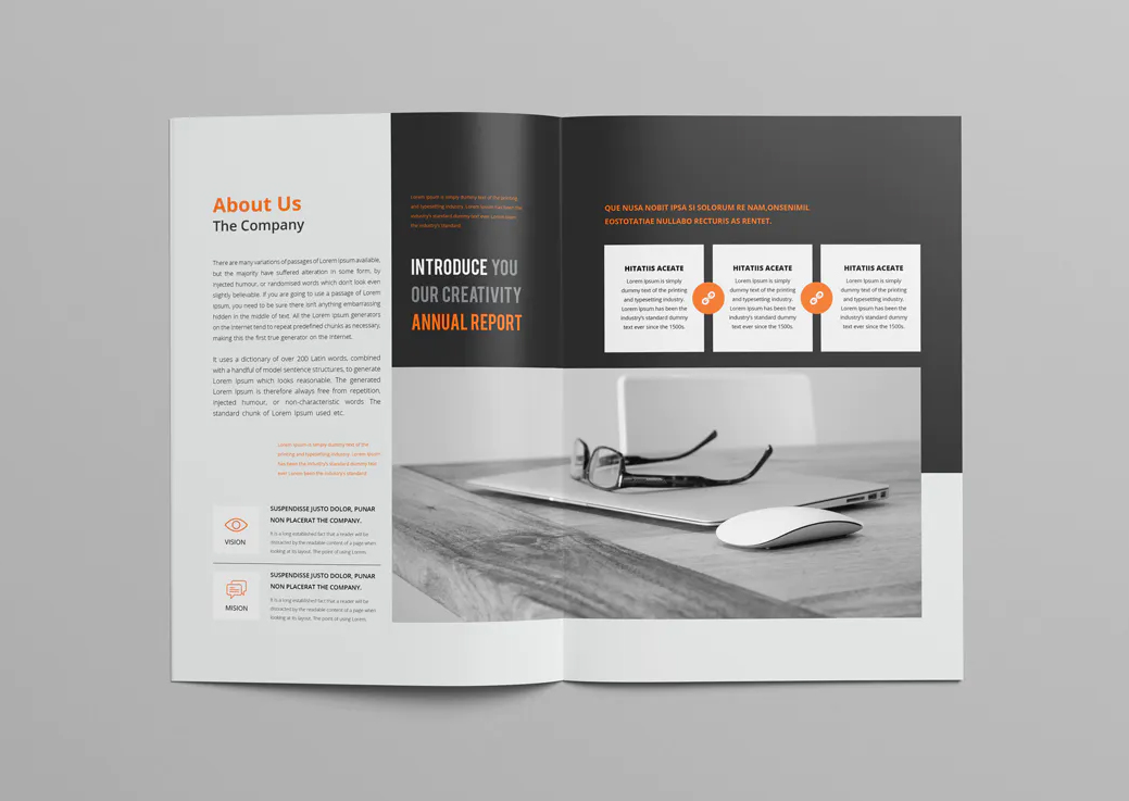 Company Business Brochure Template INDD