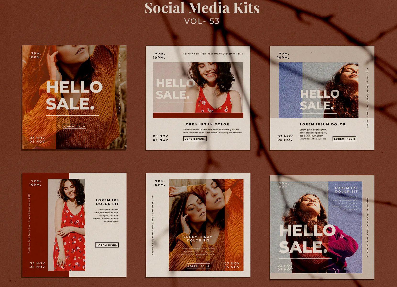 Fashion Sale Social Media Design
