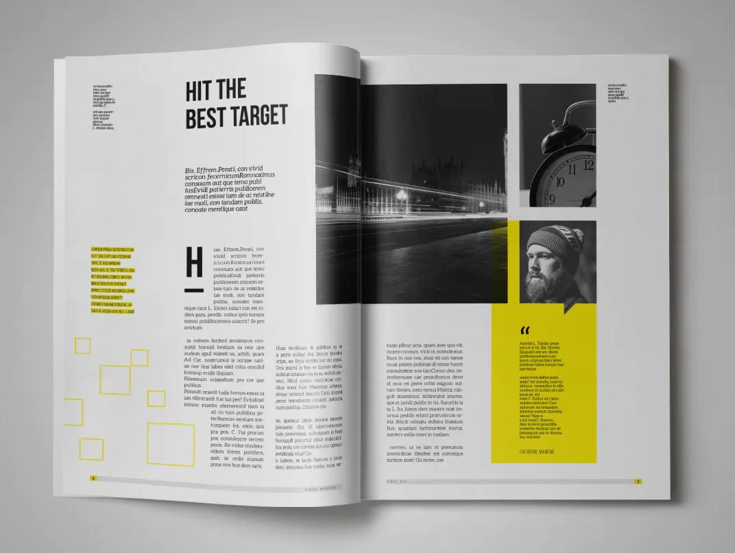 Lifestyle Magazine Design Template