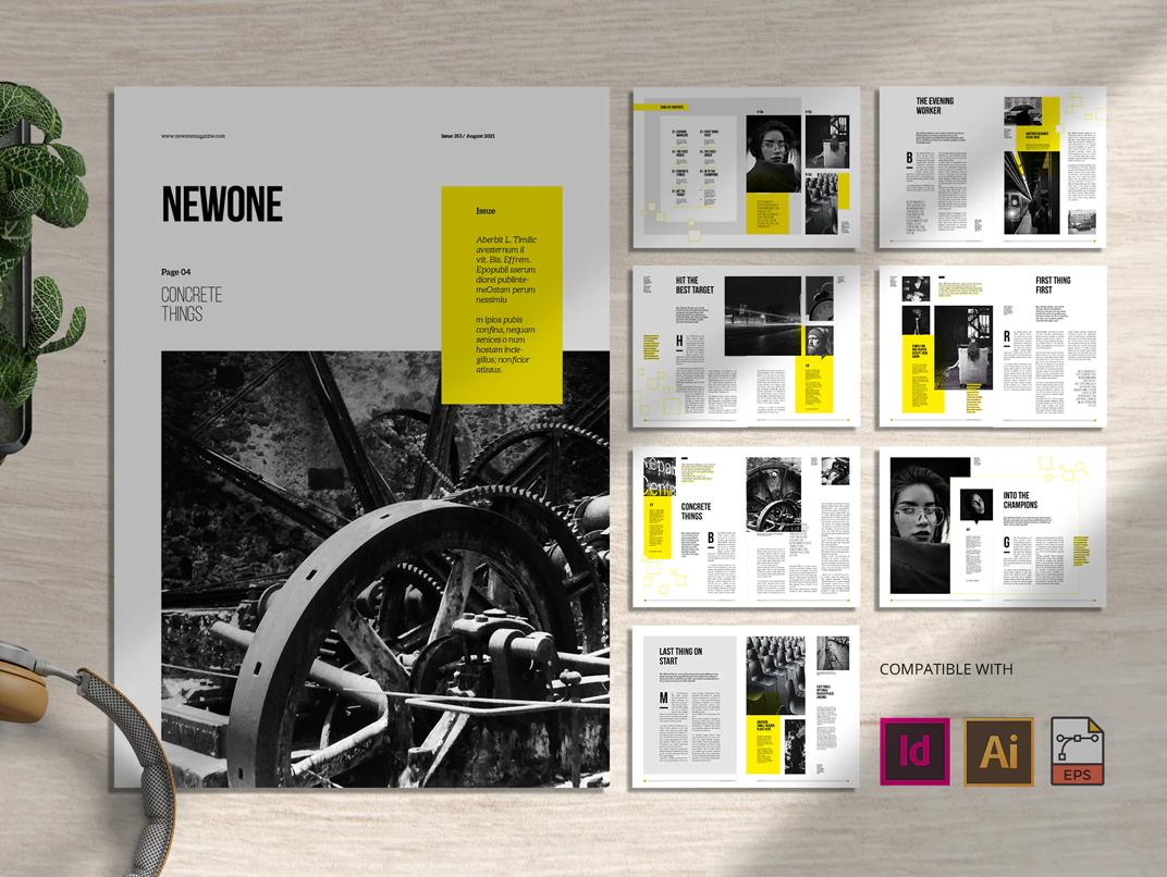 Lifestyle Magazine InDesign