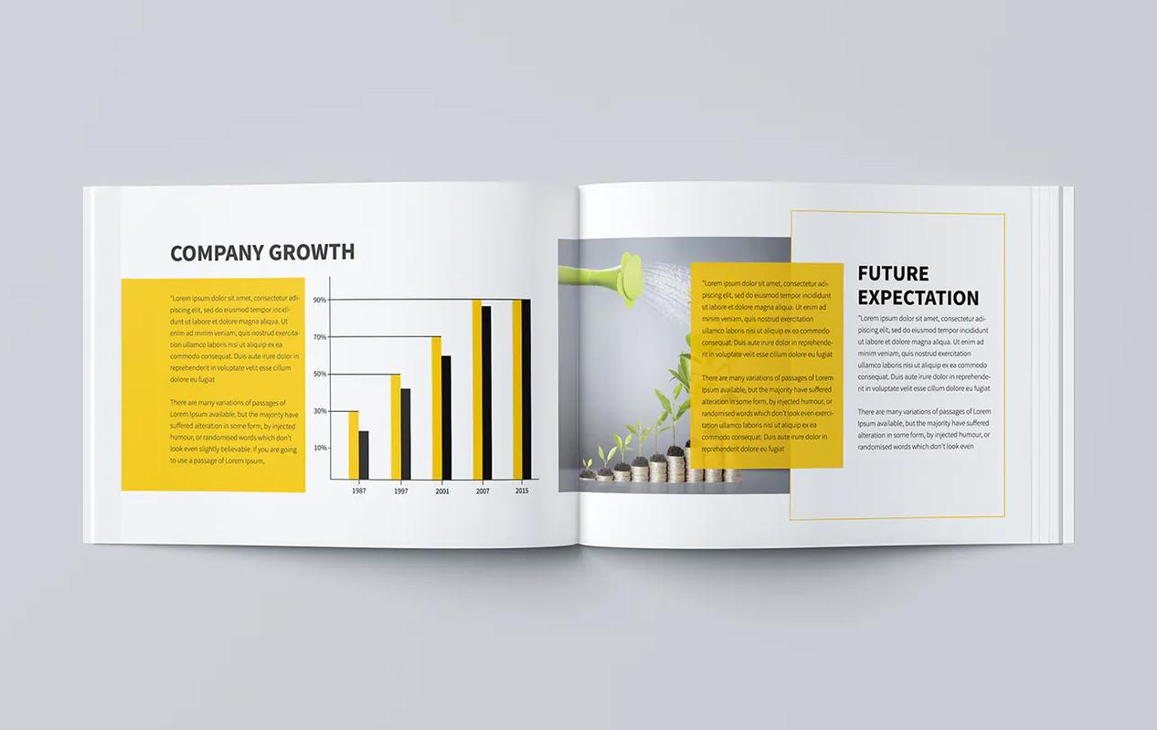 Minimal Business Brochure Design
