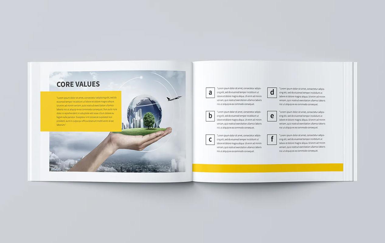 Minimal Business Brochure PSD