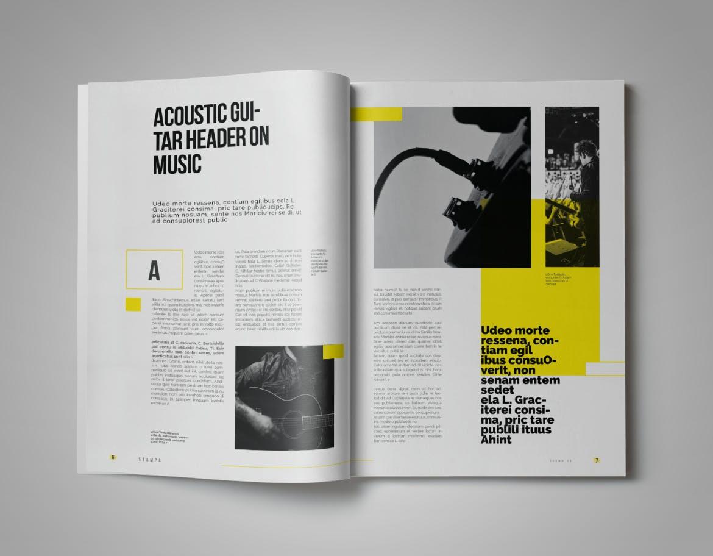 Modern Magazine Template