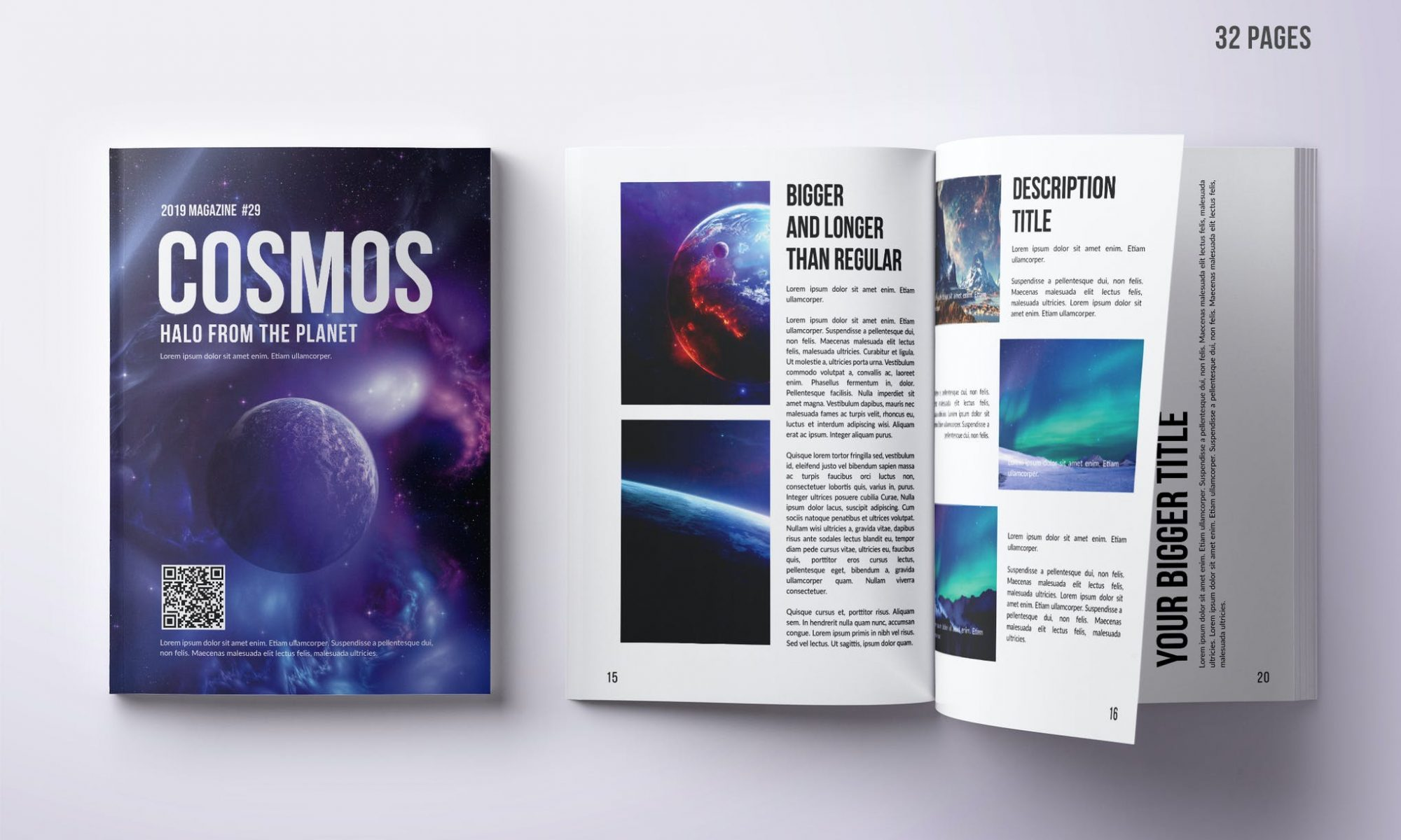 Photo Magazine Design - 32 Pages