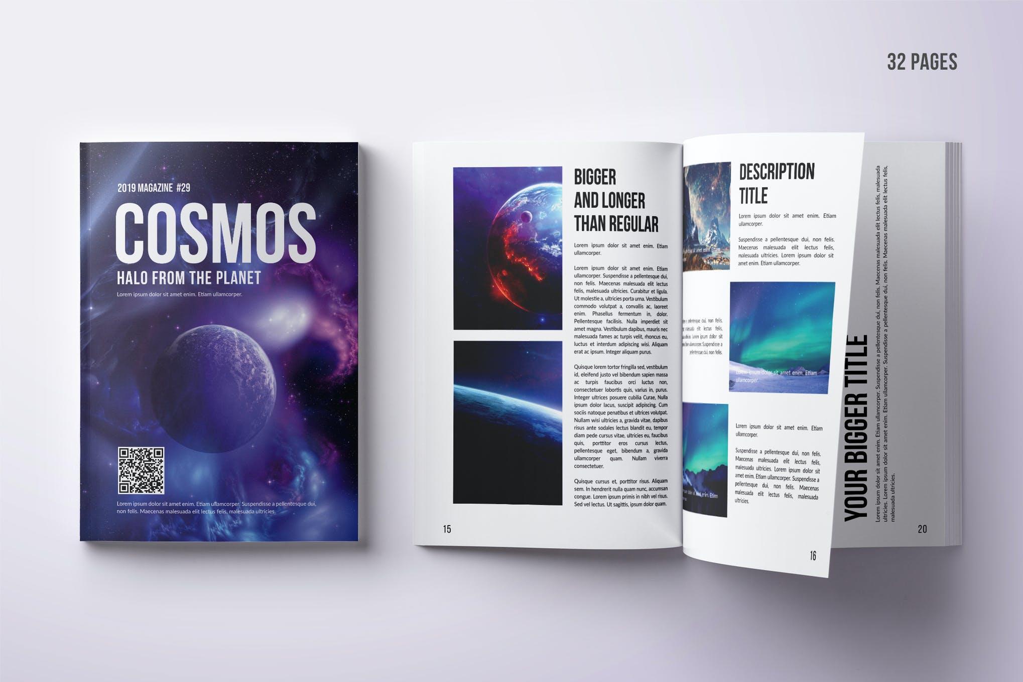 Photo Magazine Design - 32 Pages