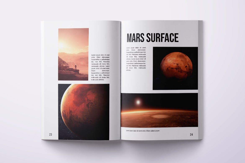 Photo Magazine Design Template