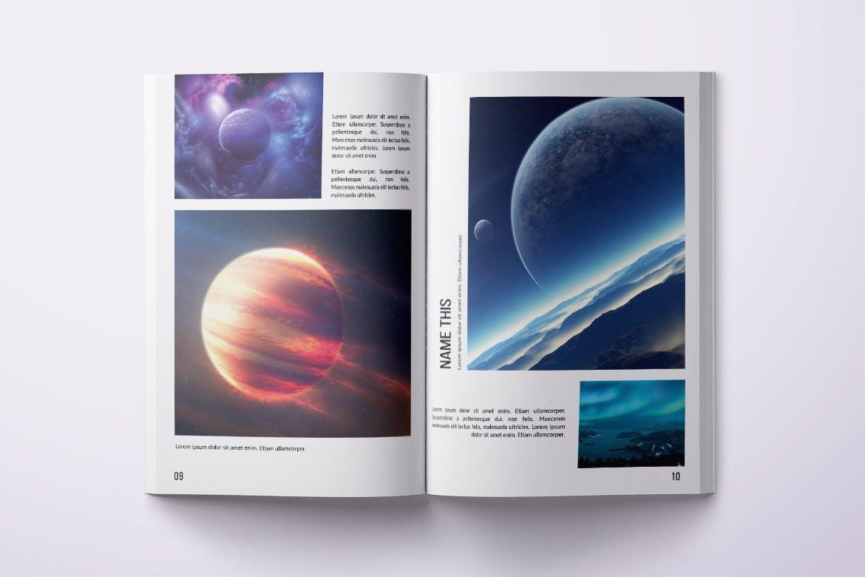 Photo Magazine Layout PSD