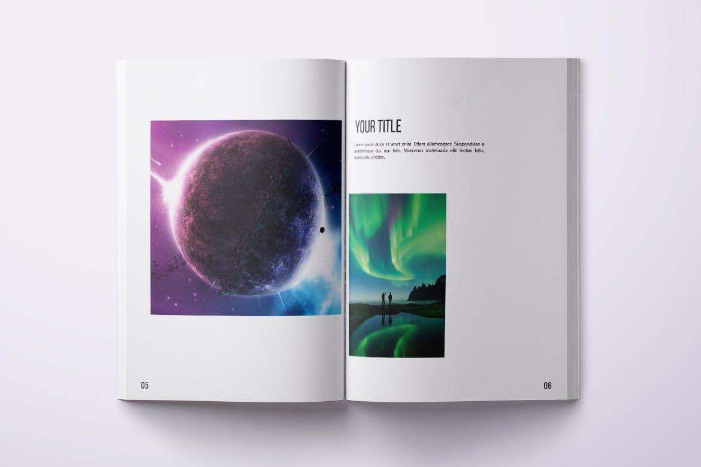 Photo Magazine Template PSD