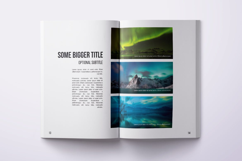 Portfolio Magazine Layout