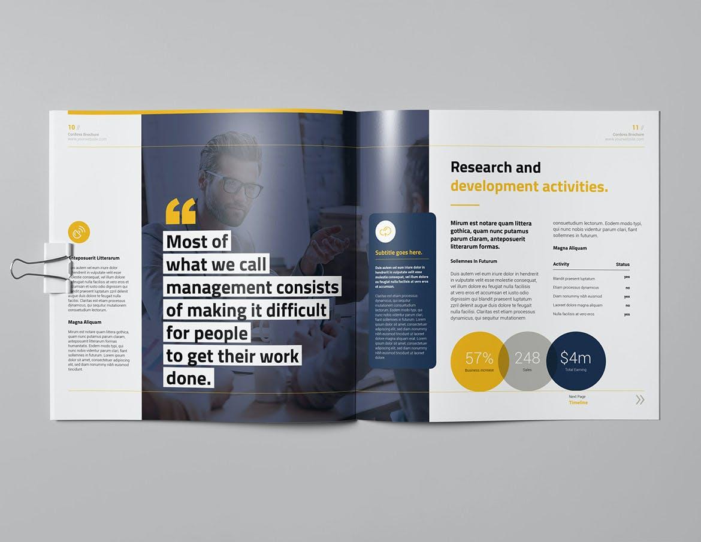 Proposal Square Brochure Template