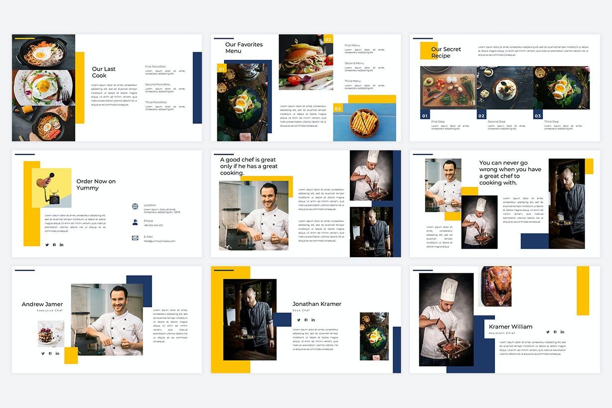 Restaurant PowerPoint Presentation Template