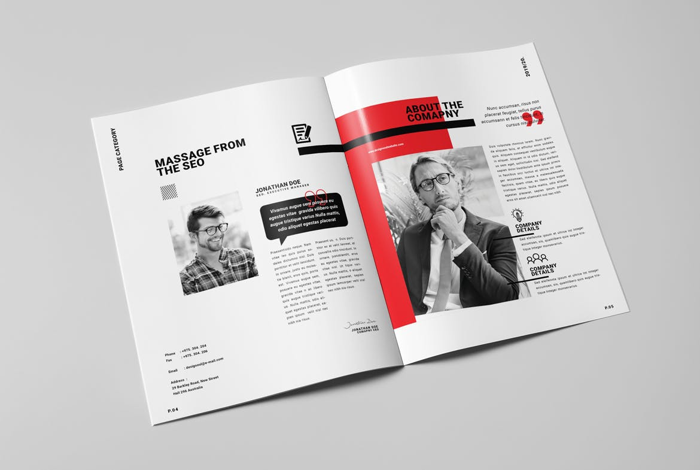 Annual Report Brochure Design