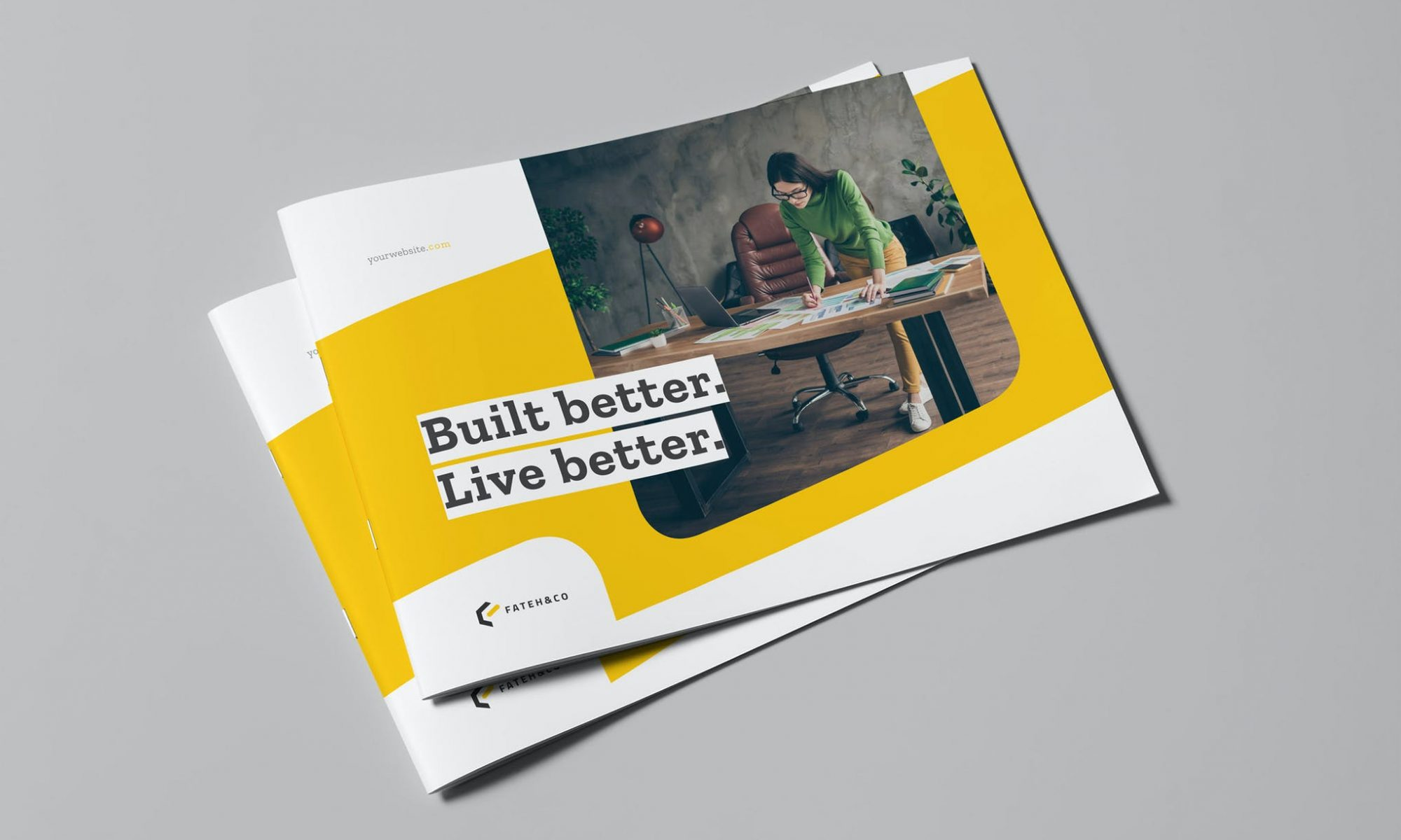 Corporate Brochure Template InDesign