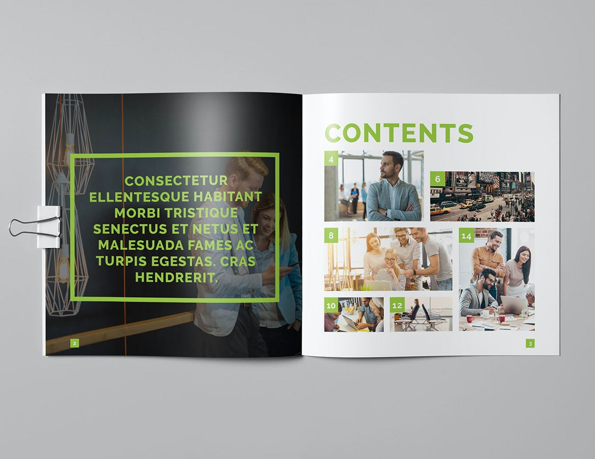Creative Square Brochure Design