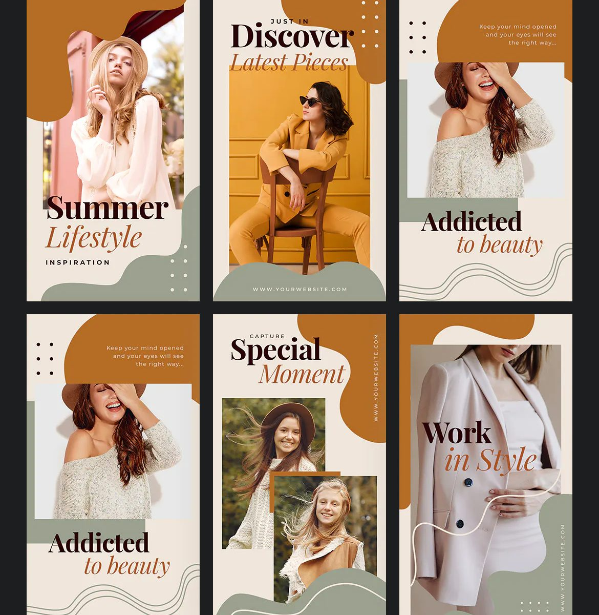 Fashion and Beauty Instagram Stories Template