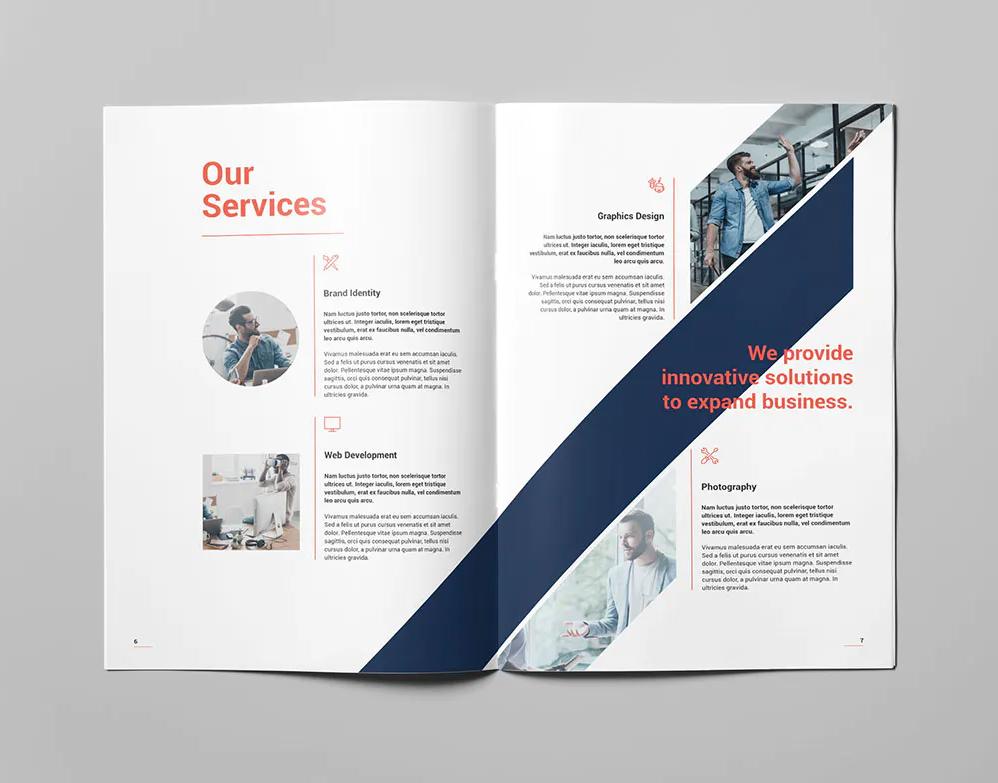 Portfolio Brochure Design INDD