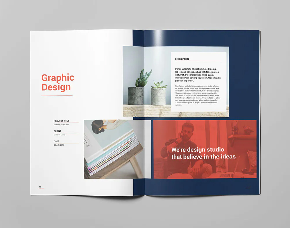 Portfolio Brochure InDesign