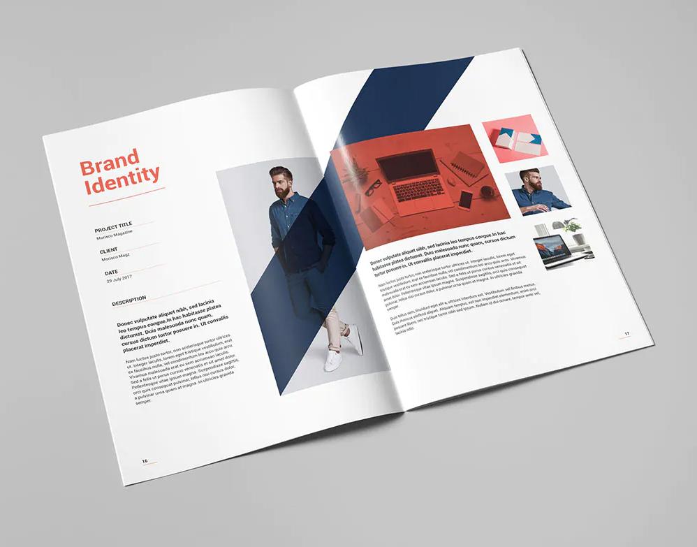 Portfolio Brochure Template INDD