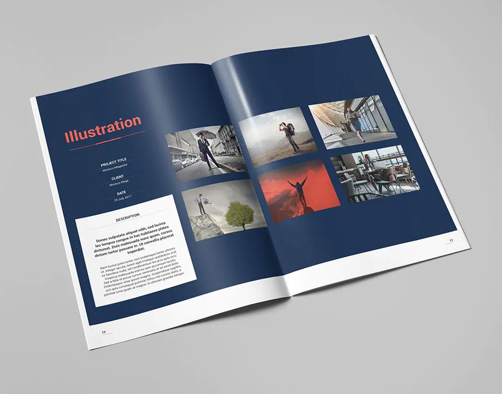 Portfolio Brochure Template InDesign
