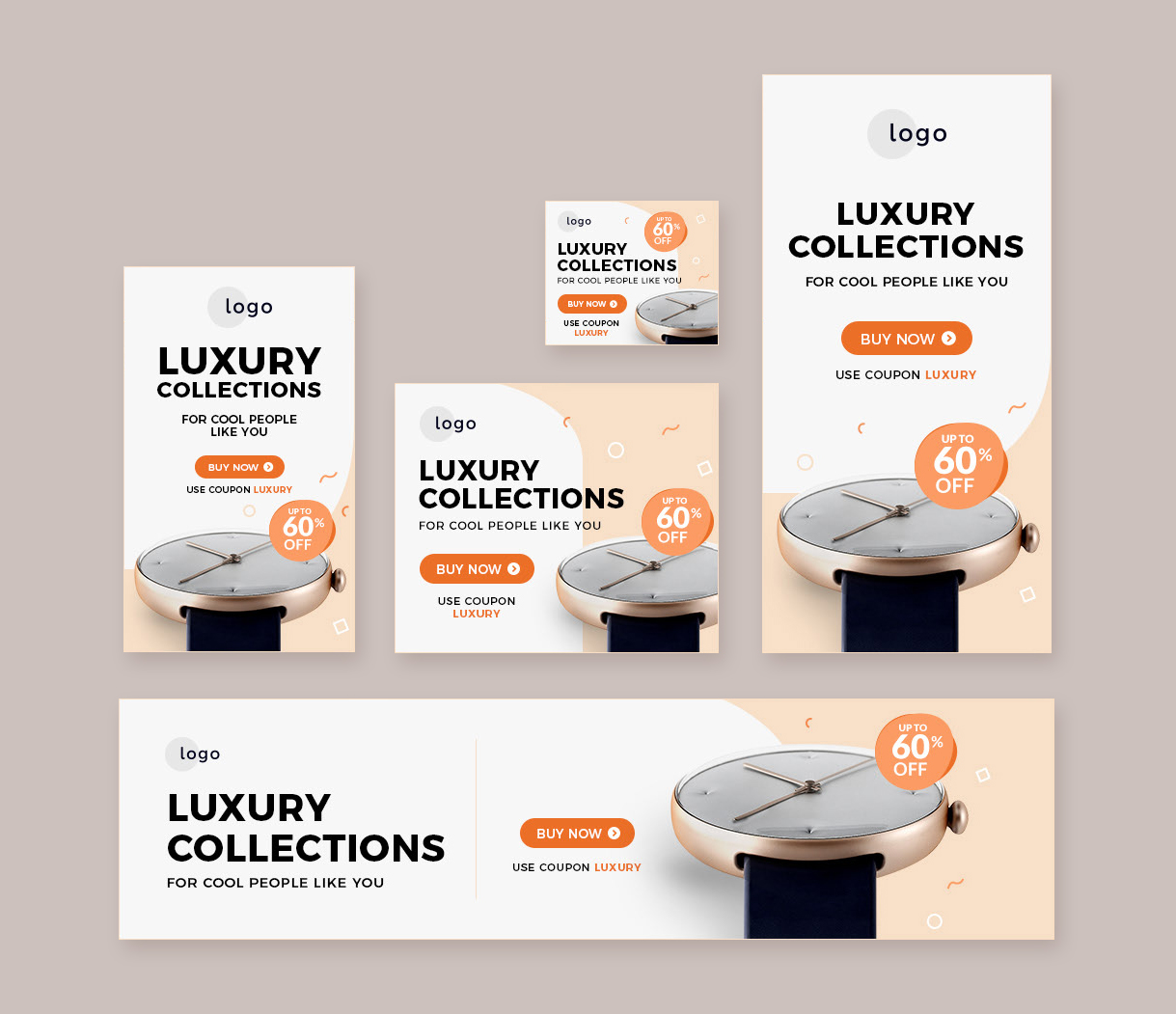 Retail Sale Web Banners Template