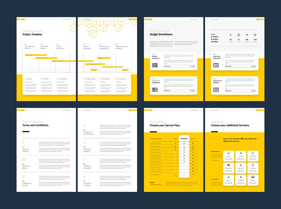 SEO Proposal Brochure Template