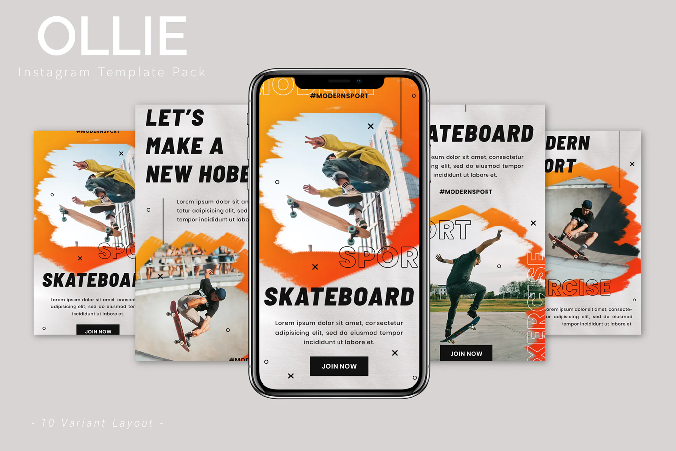Sport Instagram Stories and Posts Templates