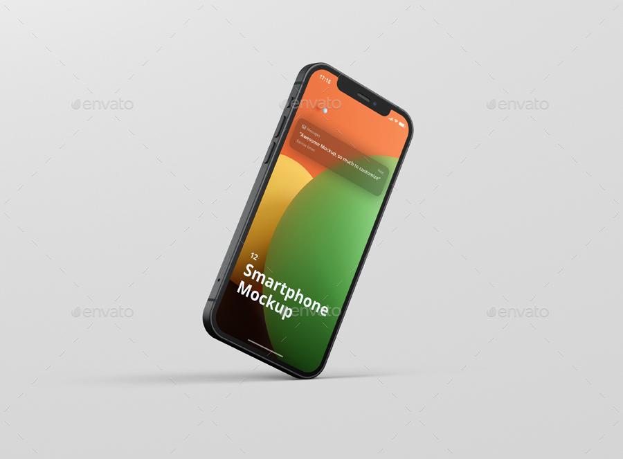 iPhone 12 Mockup - Smartphone