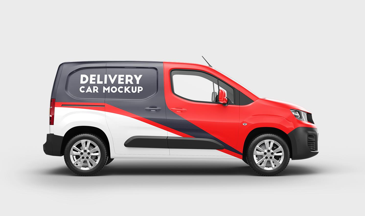 Peugeot Partner 2020 Mockups