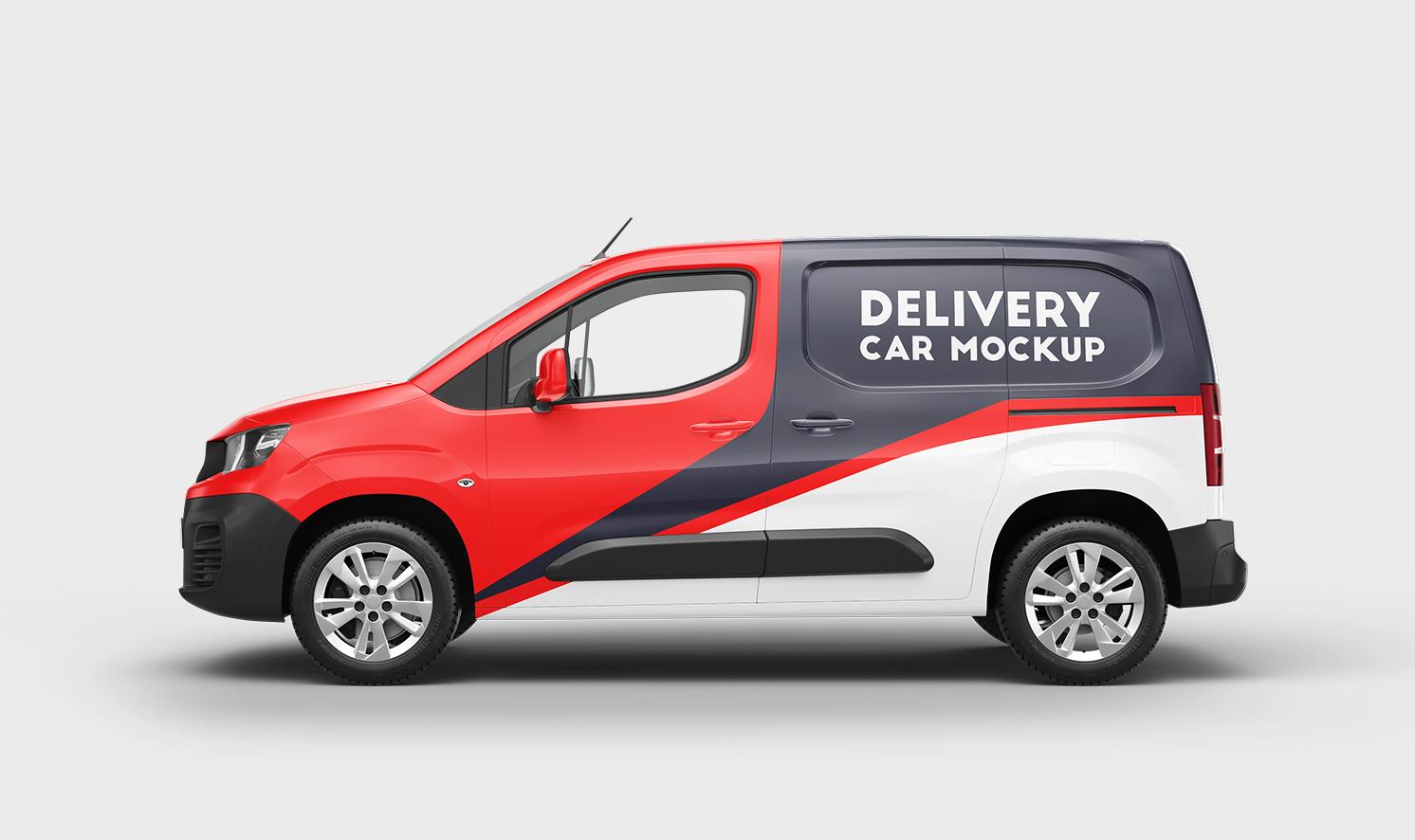 Peugeot Partner Mockup PSD