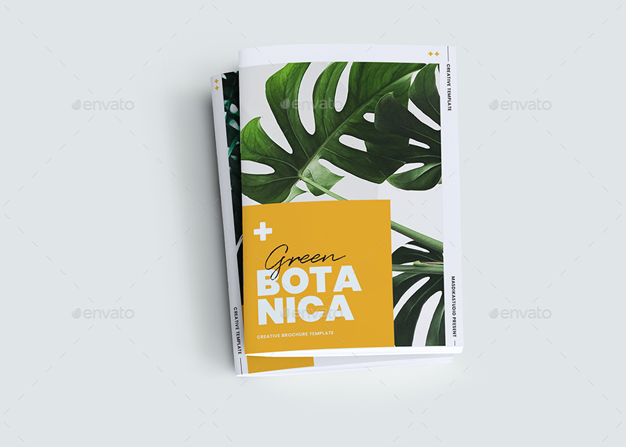 Botanical Brochure Template