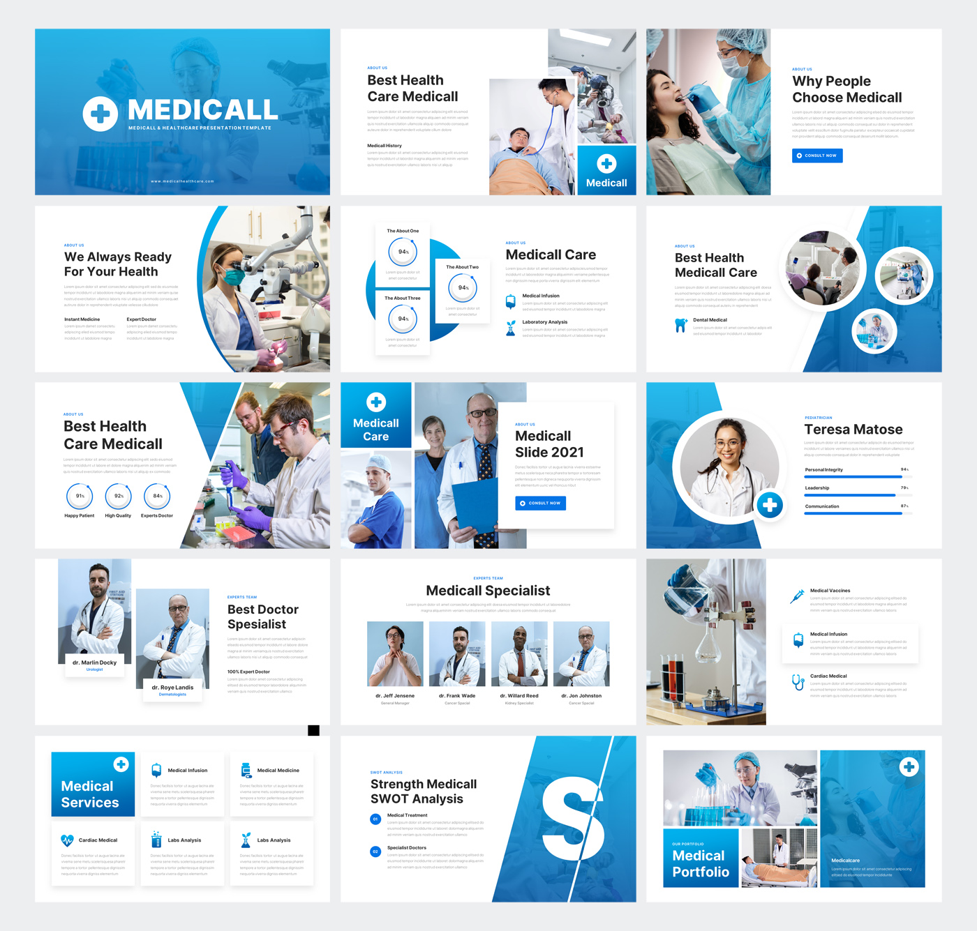 Medical & Health PowerPoint Presentation Template