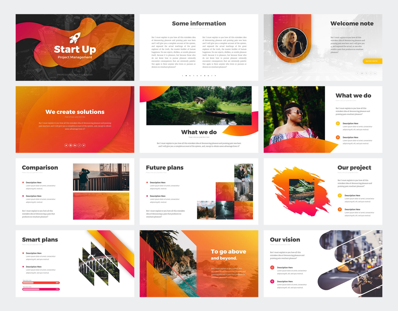 StartUp Business Investor PowerPoint Template